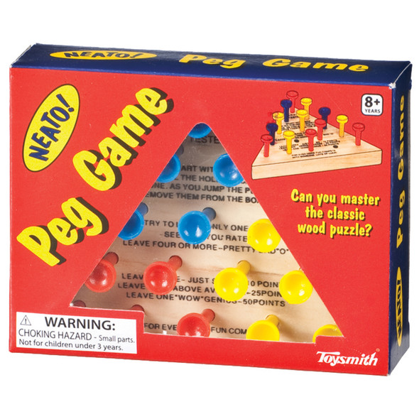 Neato Peg Game - 1 Pkg