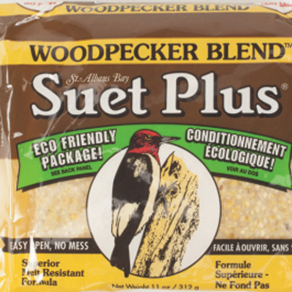 Woodpecker Blend Suet Cake for Birds, 11oz - Each