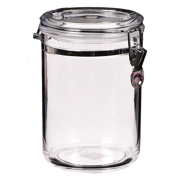 Grace Acrylic Canister, Clear,  58 oz - 1 Pkg