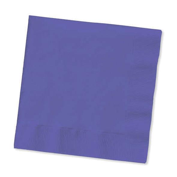 Solid Color Luncheon Napkins, Purple, 50 Ct - 1 Pkg