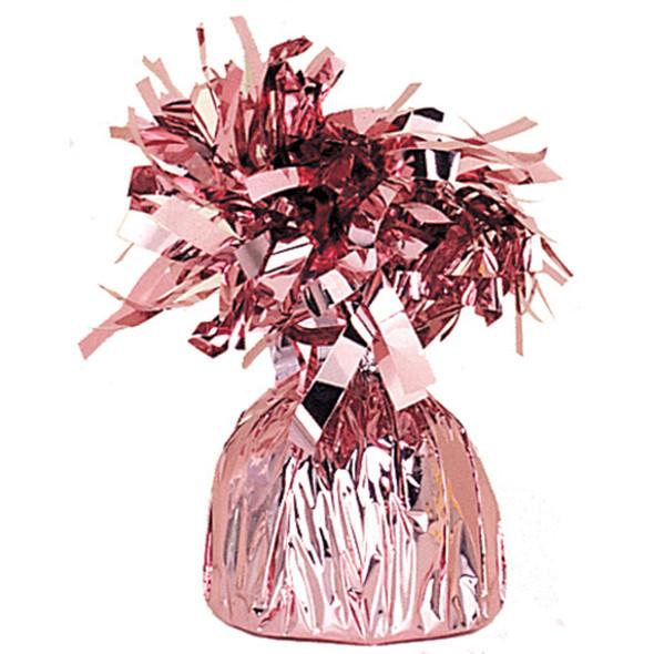 Foil Balloon Weight, Pink, 6.2 oz - 1 Pkg