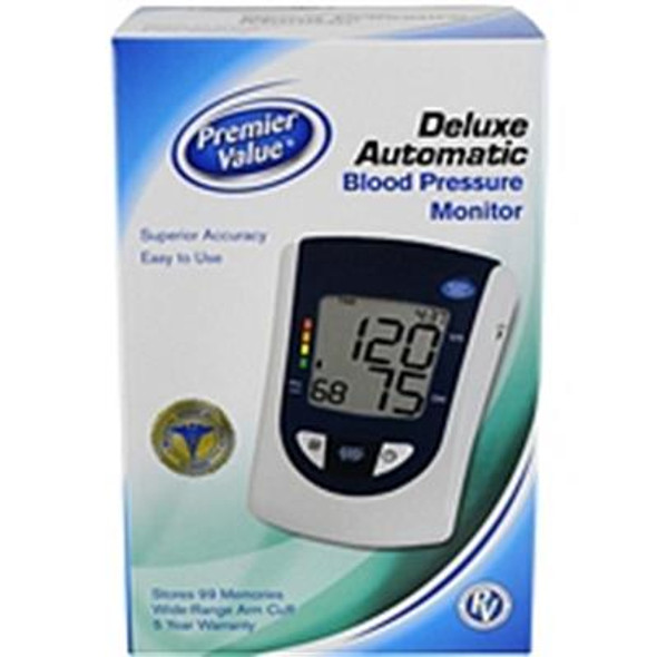 Premier Value Deluxe Automatic Blood Pressure Monitor - 1 ct