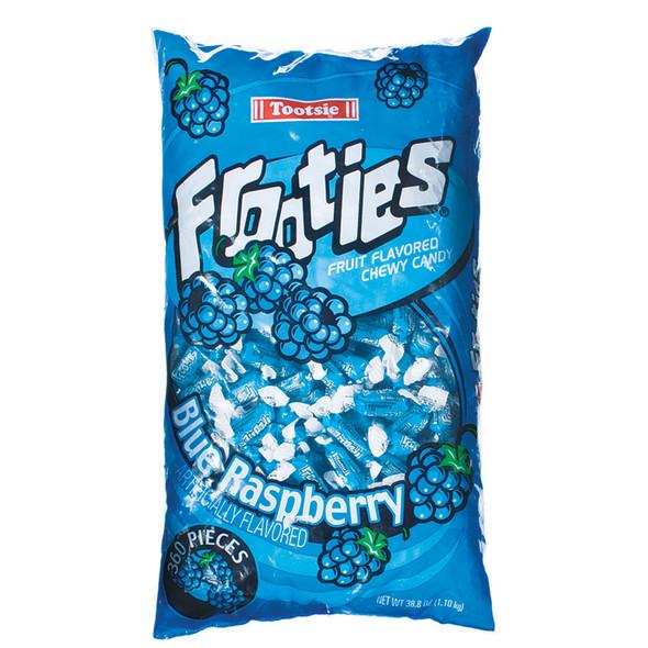 Tootsie Frooties, Blue Raspberry, 360 Ct