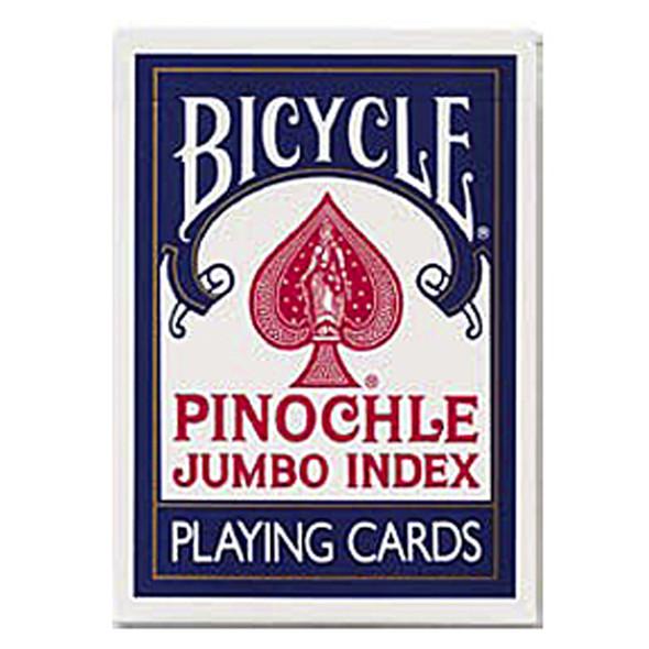 Jumbo Index Pinochle Playing Cards