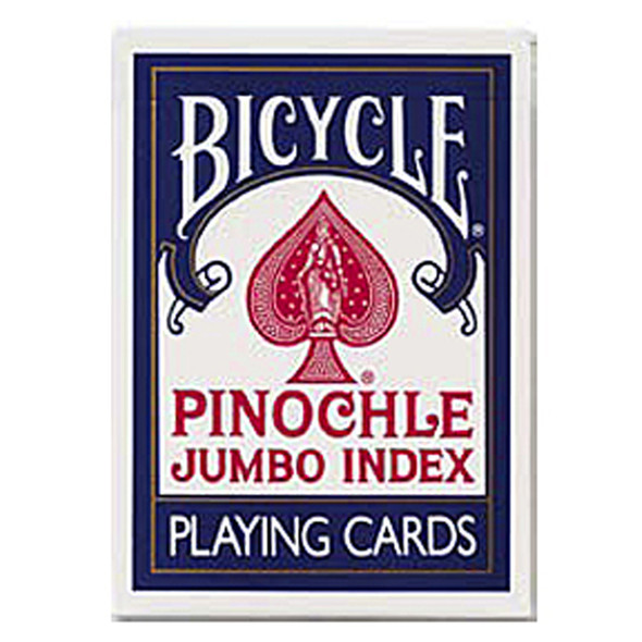 Jumbo Index Pinochle Playing Cards