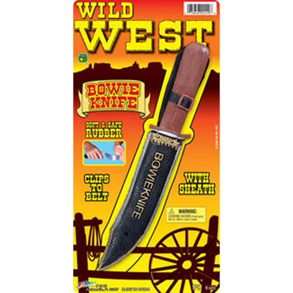 Wild West Bowie Knife - 1 Pkg