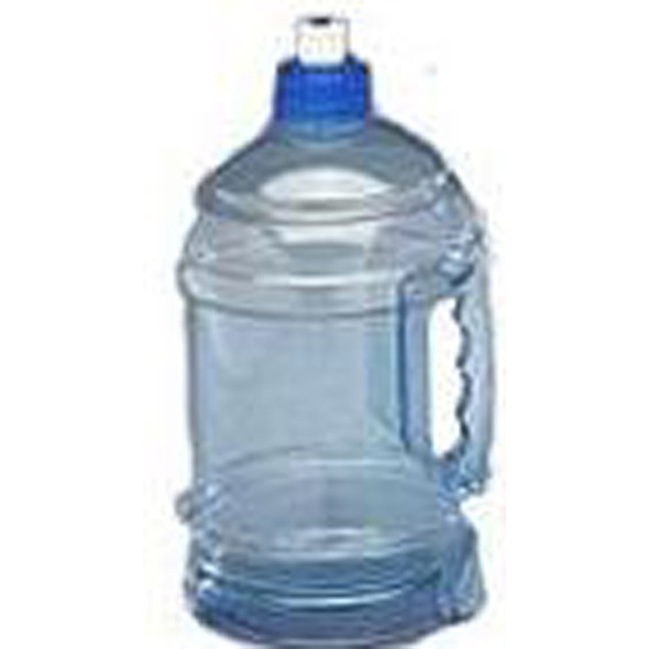 H2O On The Go Water Bottle, Clear, 74 oz - 1 Pkg
