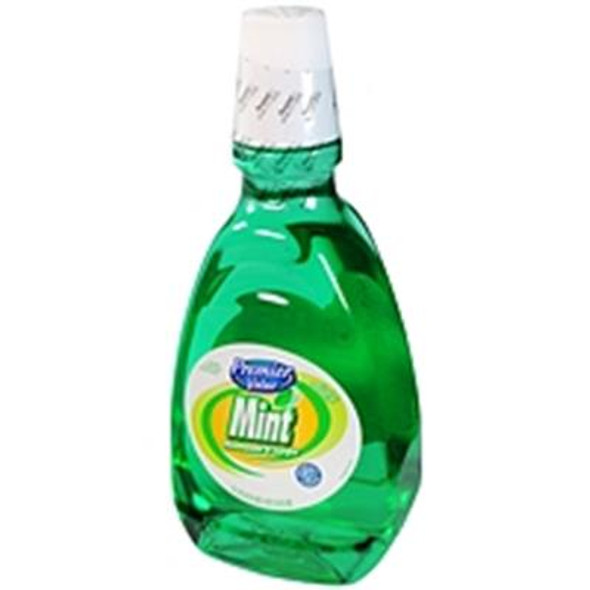 Premier Value Mouthwash Mint 1 Ltr. - 33.8oz