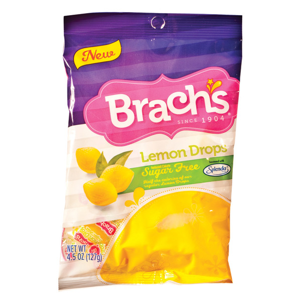 Brach's Sugar Free Lemon Drops, 4.5 oz Bag