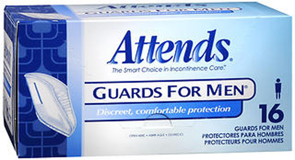 Attends Guards For Men - 4 pks of 16