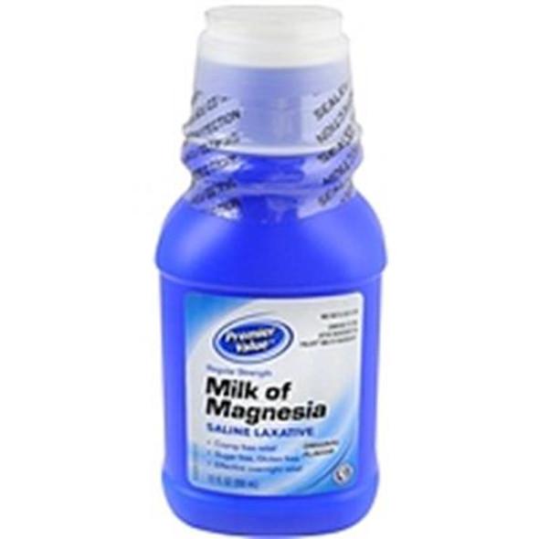 Premier Value Milk Of Magnesia Original - 12oz