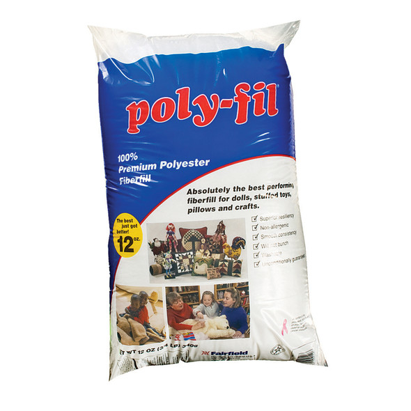 Poly Fill, 12 oz - 1 Pkg