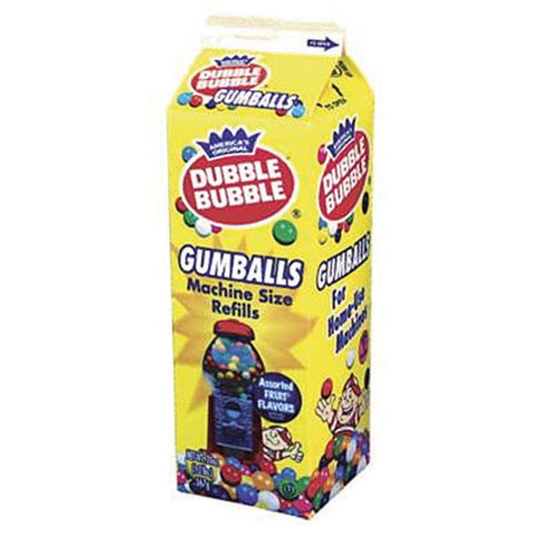 Dubble Bubble Gumball Refill, Assorted -  20 oz