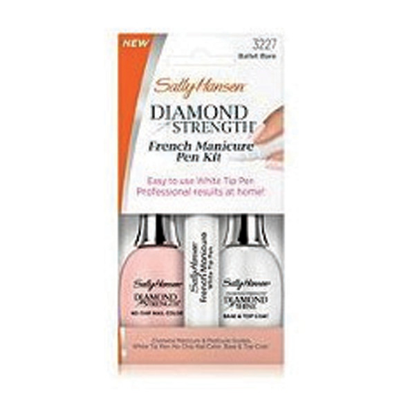 Sally Hansen Diamond French Pen Kit, Ballet Bare - 1 Pkg