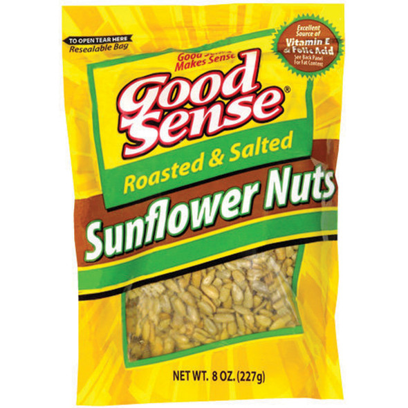 Sunflower Nuts Roasted Salted Snacks, 8 oz - 1 Bag