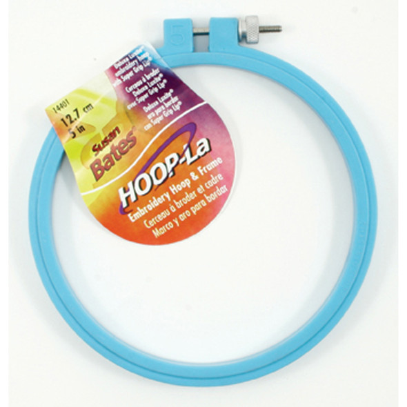 "Luxite Embroidery Hoop, Assorted, 5"" - 1 Pkg"