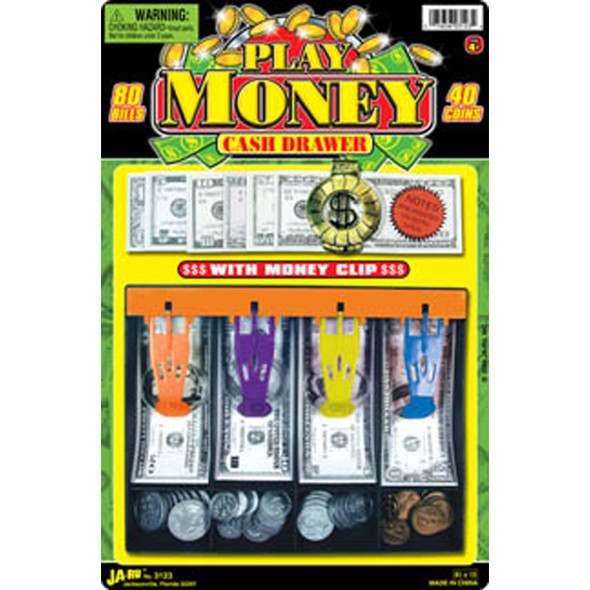 Fun Bucks Cash Drawer - 1 Pkg