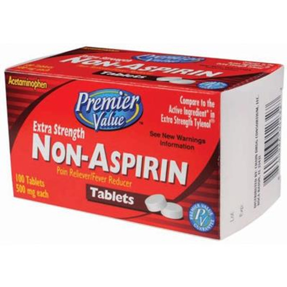 Premier Value Non-Asa X/S Tablets 500Mg - 100ct
