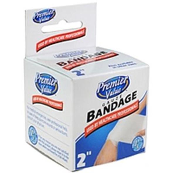 """Premier Value Gauze Bandage 2"""" - 1ct"""