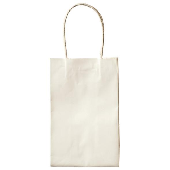 """Cub Gift Bags, White, 8.5X5.2"""" - 1 Pkg"""