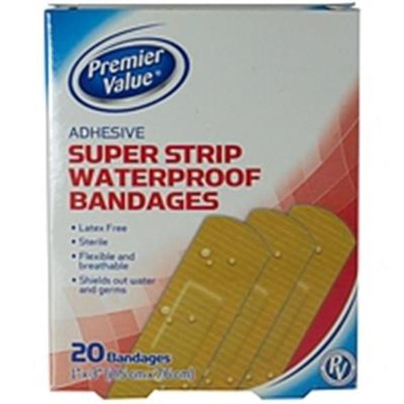 "Premier Value Strong Strips Waterproof 1"" - 20ct"