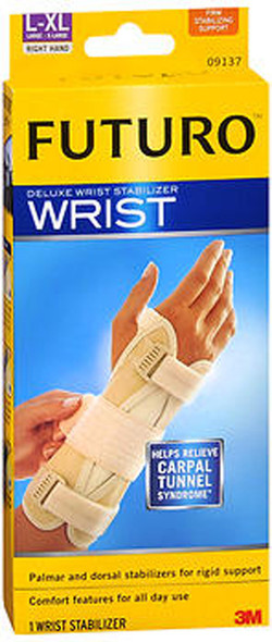 Futuro Deluxe Wrist Stabilizer L-XL Right Hand, 09137ENT