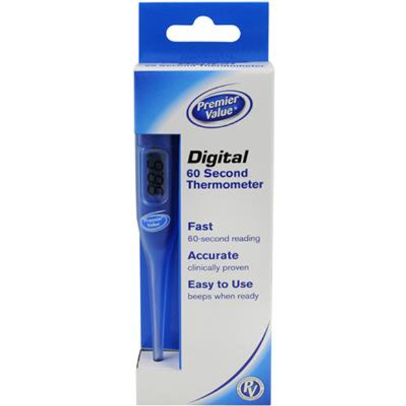 Premier Value Thermometer Digital - 1ct