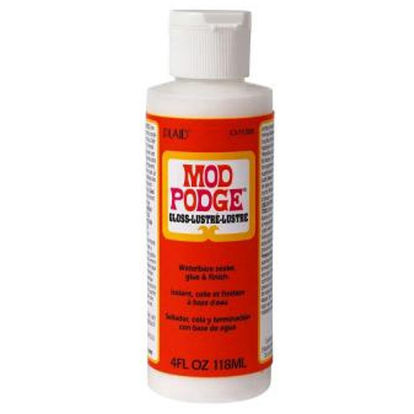 Mod Podge Glue, Gloss, 4 oz - 1 Pkg