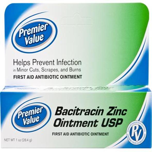Premier Value Bacitracin Ointment 1oz - 1oz