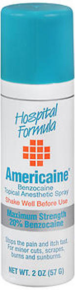 Americaine Benzocaine Topical Anesthetic Spray - 2 oz