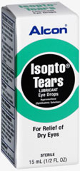 Isopto Tears Solution Dry Eye Relief 0.5 fl oz