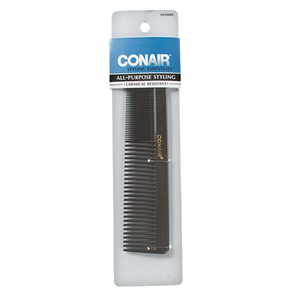 Dressing Comb-Hard Rubber, Black - 1 Pkg