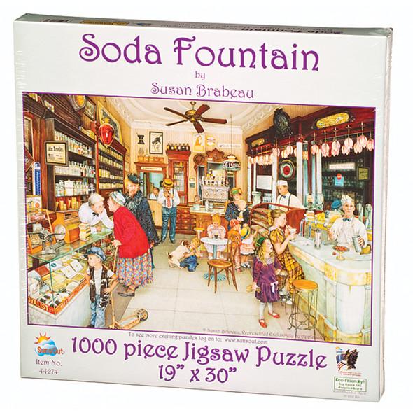 Soda Fountain Puzzle, 1000 Pc
