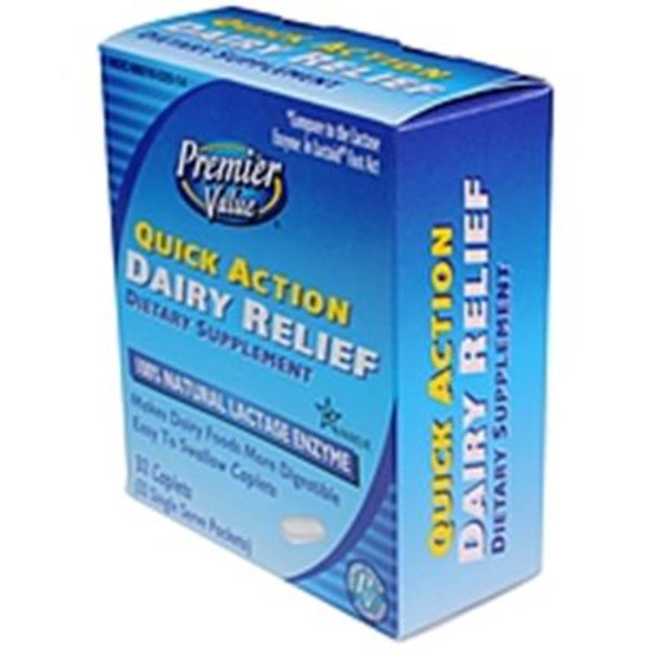 Premier Value Quick Action Dairy Relief - 32ct