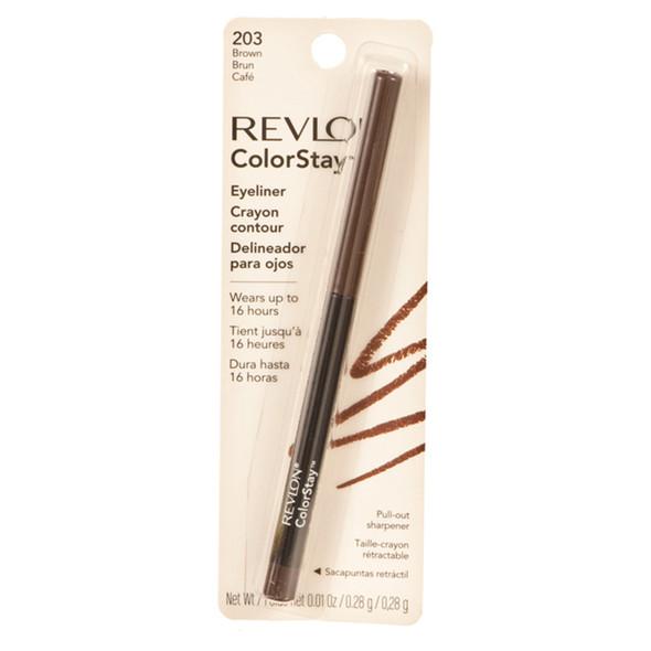 Revlon Colorstay Eyeliner, Brown  - Each
