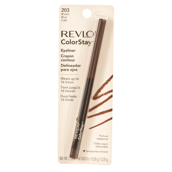 Revlon Colorstay Eyeliner, Brown  - Each