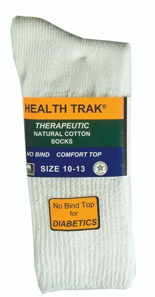 Men's Therapeutic Sock, White - 1 Pkg