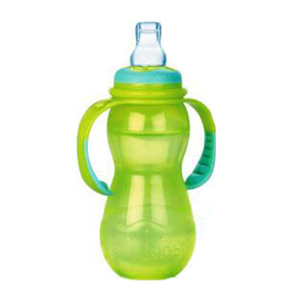 Nuby Stage 3 Bottle, Asst, 11 oz - 1 Pkg