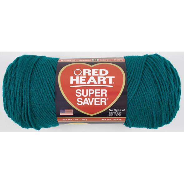 E300 Super Saver Yarn, Real Teal, 7 oz - 3 Packs