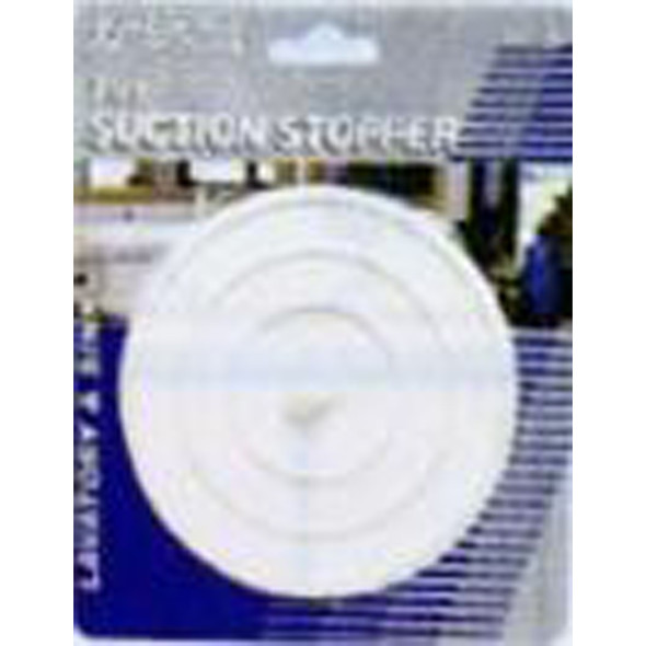 Flat Suction Sink Stopper - 1 Pkg