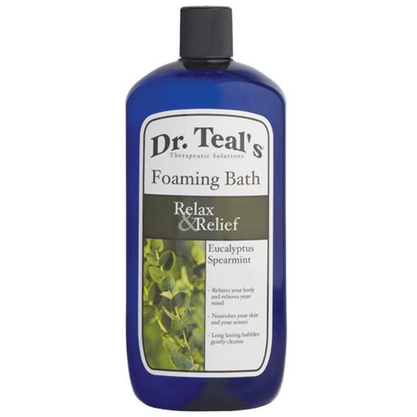 Dr. Teals Eucalyptus Foaming Bath, Eucalyptus, 34oz - 1 Pkg