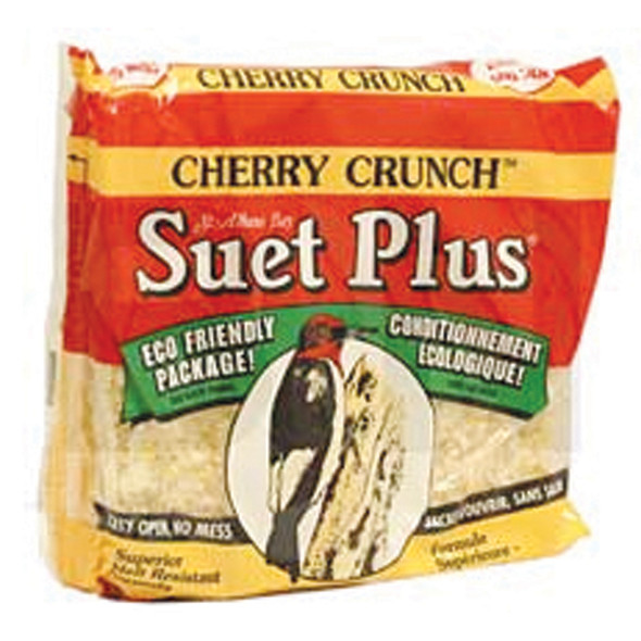 Cherry Crunch Suet Cake for Birds, 11oz - Each