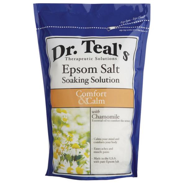 Dr. Teals Chamomile Epsom Salt, Chamomile, 3# - 1 Pkg