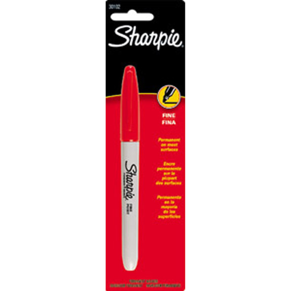 Sharpie Markers, Red - 1 Pkg