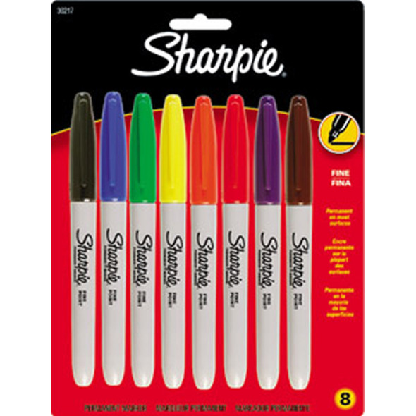 Sharpie Permanent Marker 8ct, Assorted