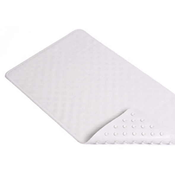 "Bath Mat-Shell Design, White, 16X28"" - 1 Pkg"