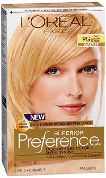 L'Oreal Superior Preference - 9G Light Golden Blonde