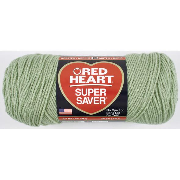 E300 Super Saver Yarn, Frosty Green, 7 oz - 3 Packs