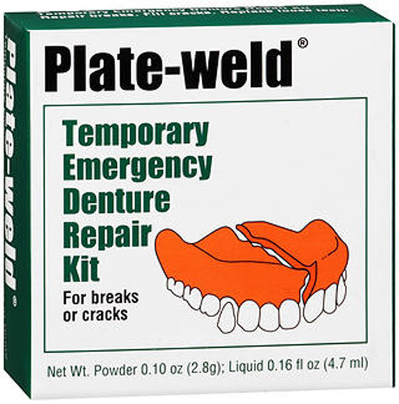 Plate-weld Temporary Emergency Denture Repair Kit