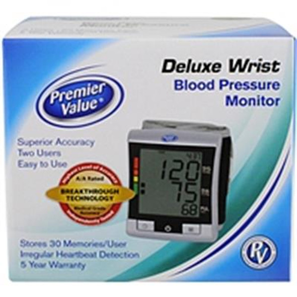 Premier Value Blood Pres. Monitor Wrist - 1ct
